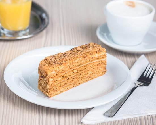 Honigtorte / Medena Torta (tortenschnitte)